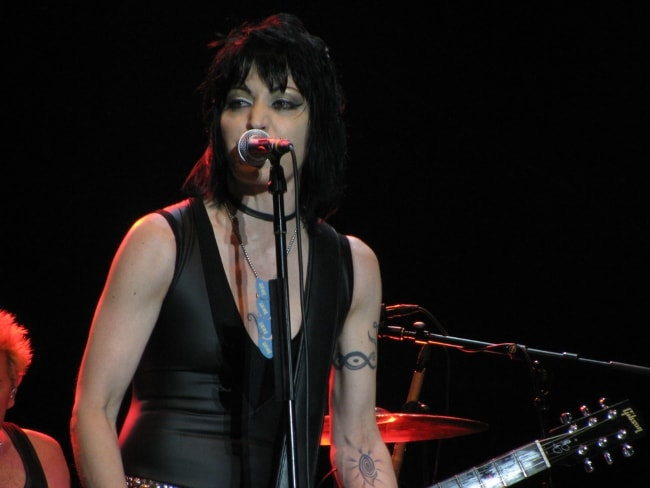 Joan Jett as seen performing at the Bluesfest in Ottawa, Canada 2010