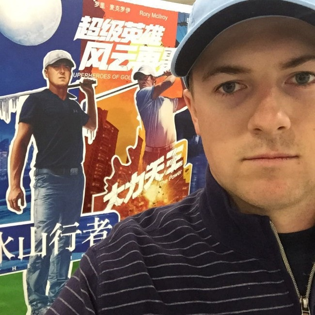 Jordan Spieth as seen in November 2015