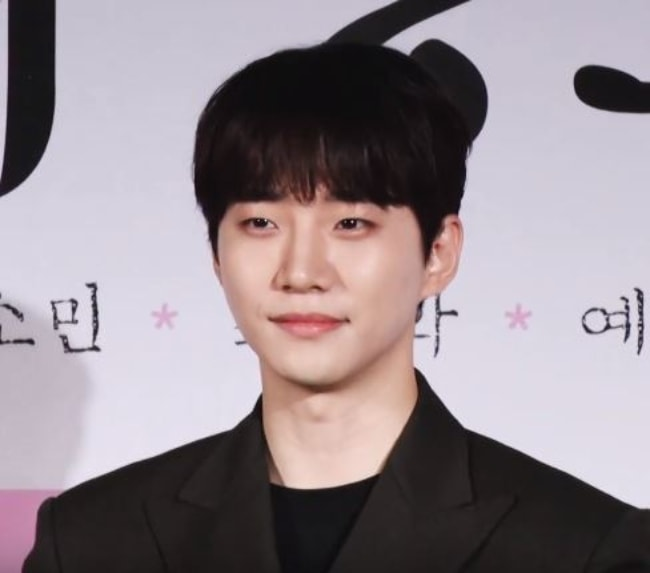 Junho as seen in Seoul in May 2019