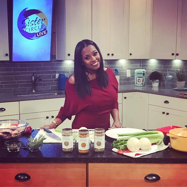 Keshia Knight Pulliam in Keshia's Kitchen in November 2017
