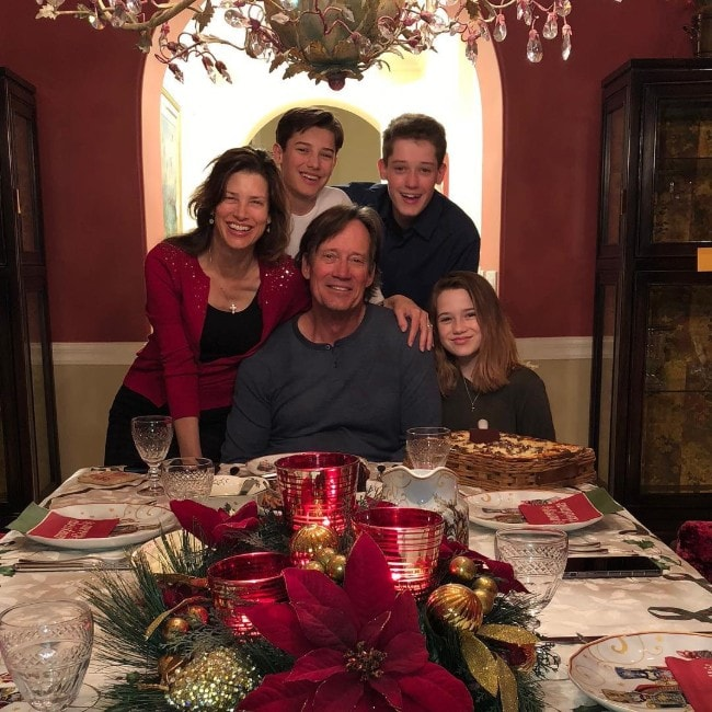 Kevin Sorbo with his whole family as seen in December 2018