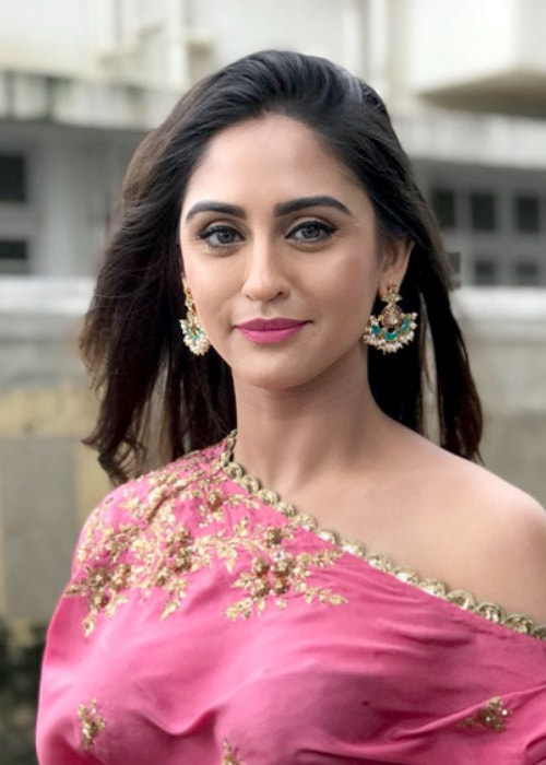Krystle D'Souza as seen gracing the SVA collection launch in August 2018