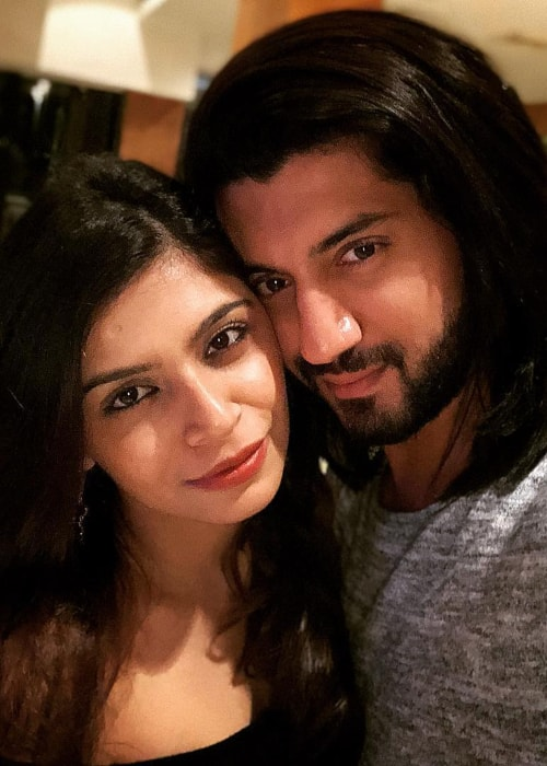 Kunal Jaisingh as seen in a selfie with his beautiful wife Bharati K Jaisingh in January 2018