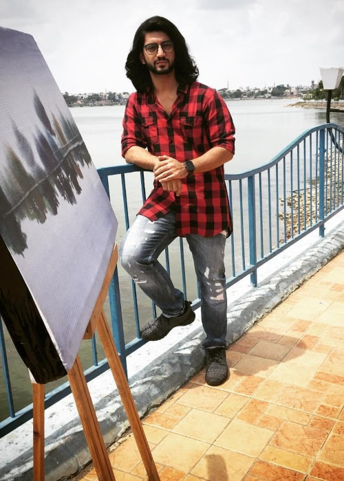 Kunal Jaisingh as seen in a picture taken in Bhopal, Madhya Pradesh in June 2016