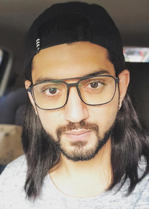 Kunal Jaisingh as seen in a selfie taken in January 2018