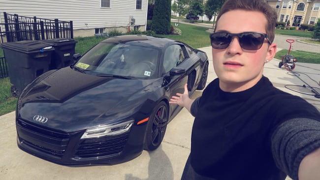 Lance Stewart in a selfie as seen in June 2016