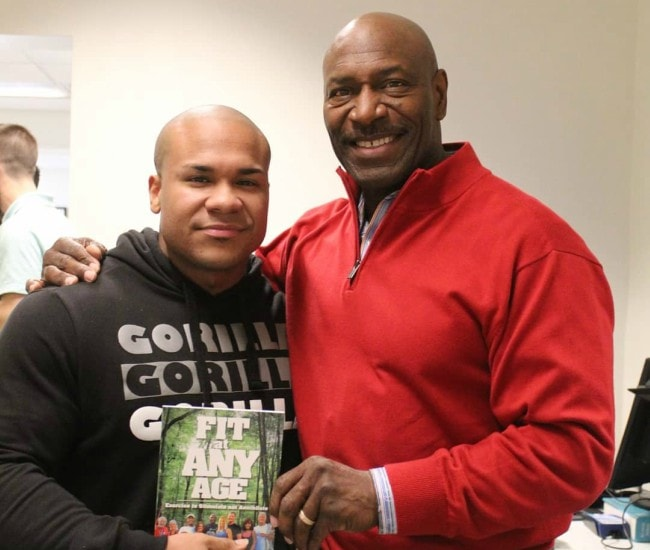 Lee Haney (Right) and The Kid Plot as seen in December 2018