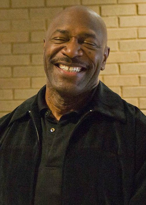 Lee Haney at the Clay Army National Guard Center as seen in May 2014