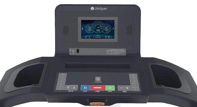 LifeSpan Fitness TR3000i Touch Folding Treadmill