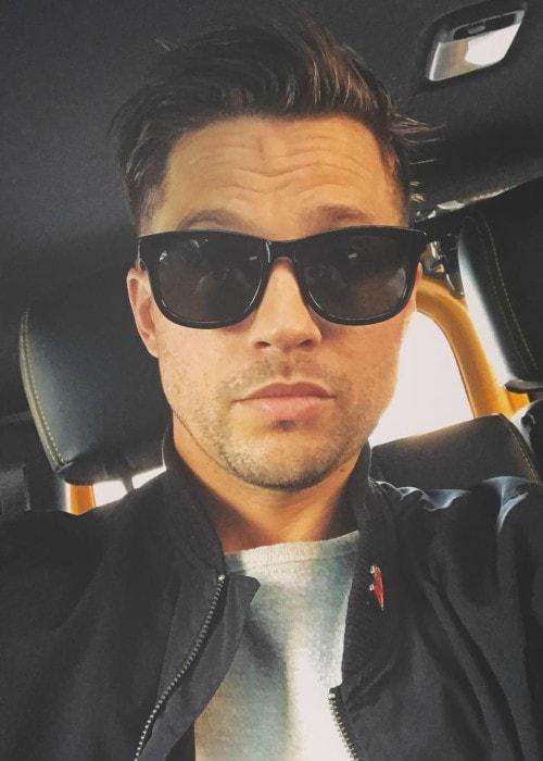 Logan Marshall-Green in an Instagram selfie as seen in February 2019