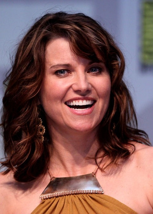 Lucy Lawless as seen in July 2010 at the Comic Con in San Diego