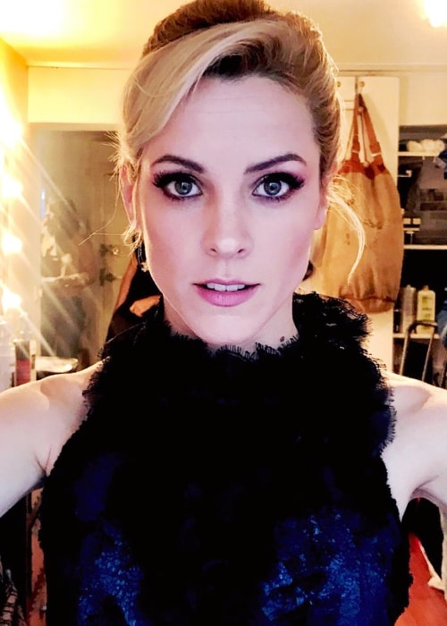 Maggie Civantos as seen while taking a selfie in January 2018