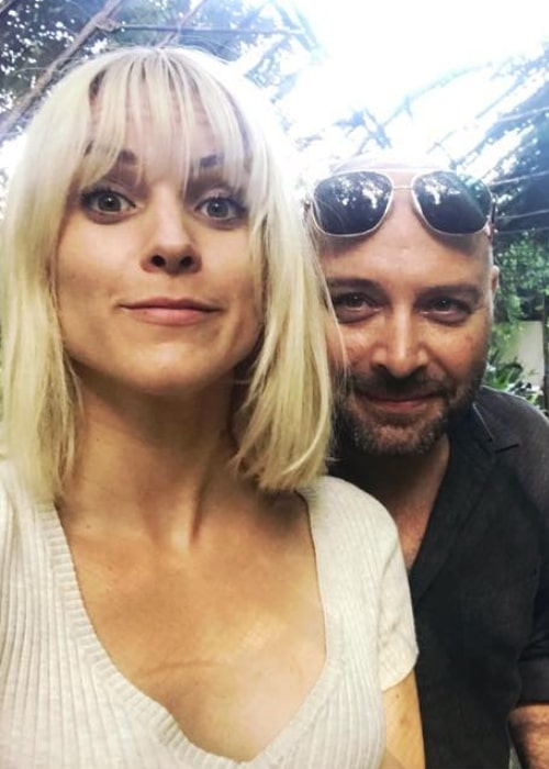 Maggie Civantos as seen while taking a selfie with Vicente Romero in July 2019
