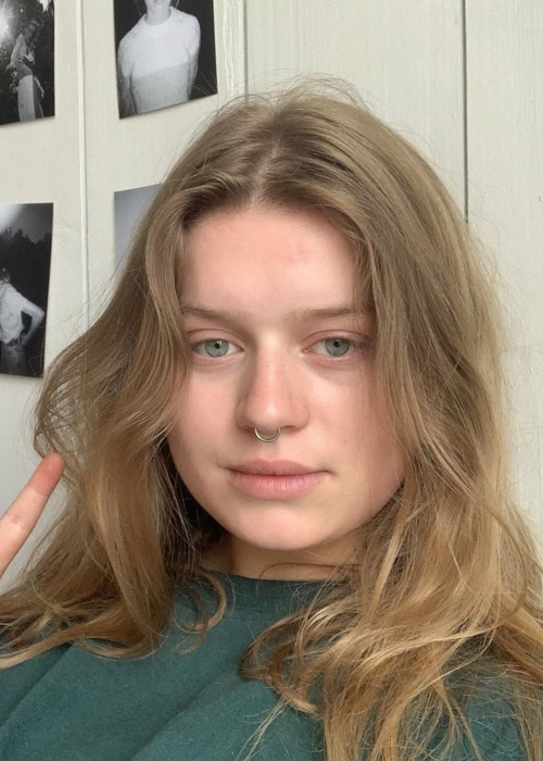 Marie Ulven as seen in a selfie taken in Oslo, Norway in June 2019