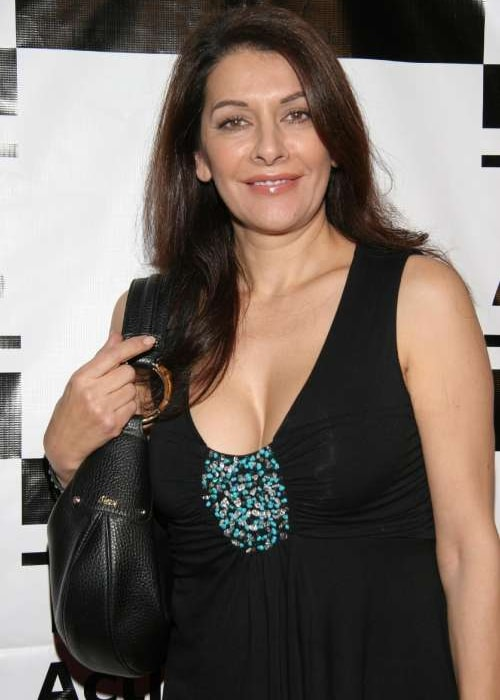 Marina Sirtis as seen in a picture taken in 2018