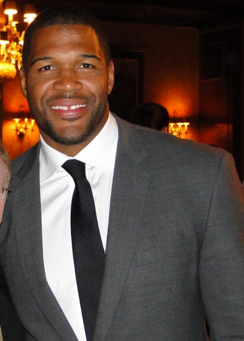 Michael Strahan as seen in April 2009
