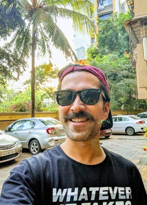 Nakuul Mehta as seen in an Instagram selfie in June 2019