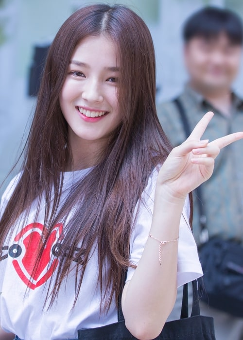Nancy Jewel McDonie as seen while posing for the camera in August 2016