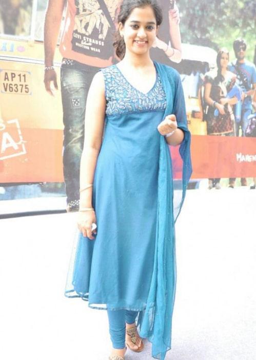 Nanditha Raj as seen in a picture taken in January 2017