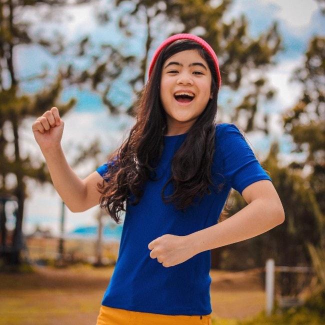 Niana Guerrero as seen in August 2018