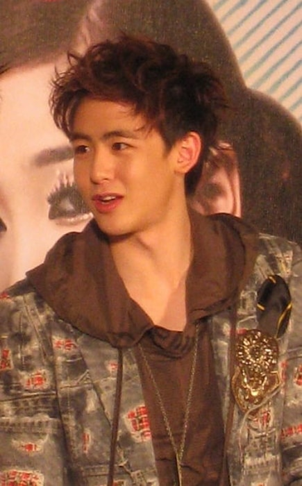 Nichkhun at press conference of Wonder Girls The First Wonder Live In Bangkok in February 2009