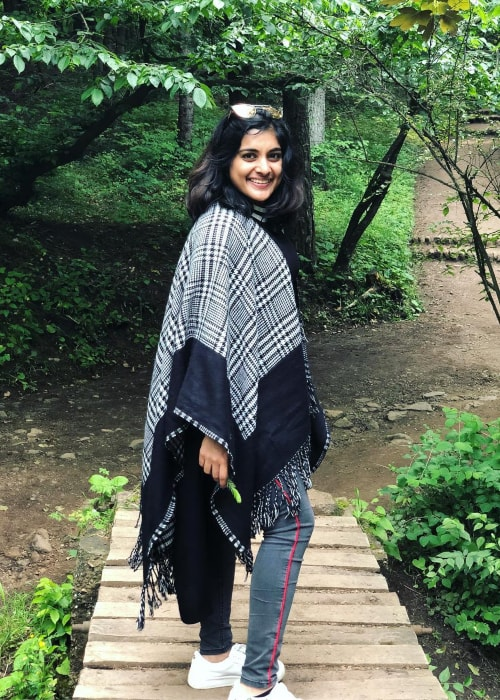 Nivetha Thomas as seen in a picture taken in June 2018