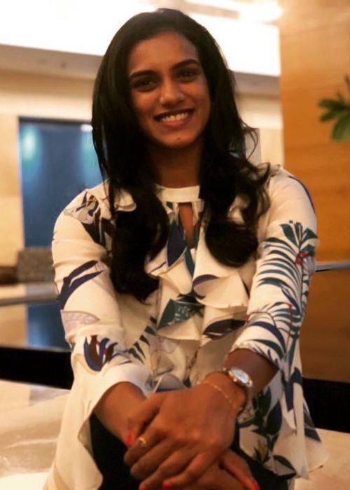 P. V. Sindhu in an Instagram post as seen in June 2018
