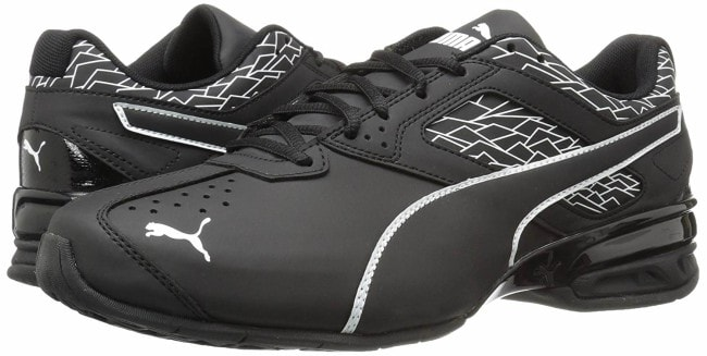 PUMA Men's Tazon 6 Fracture FM Cross-Trainer Shoe pair