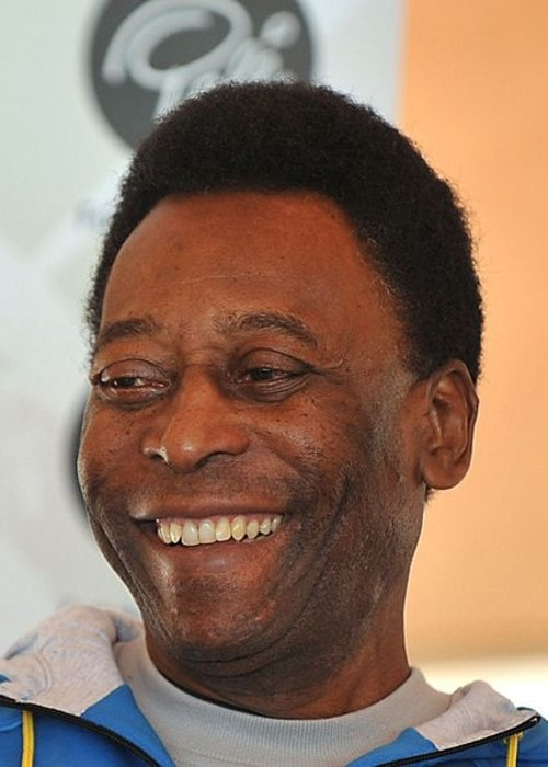 Pelé as seen in June 2010