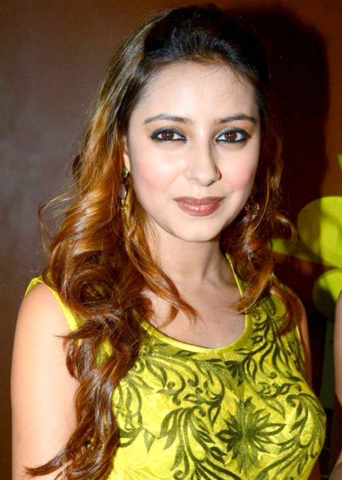 Pratyusha Banerjee as seen in a picture taken at her birthday bash in March 2014