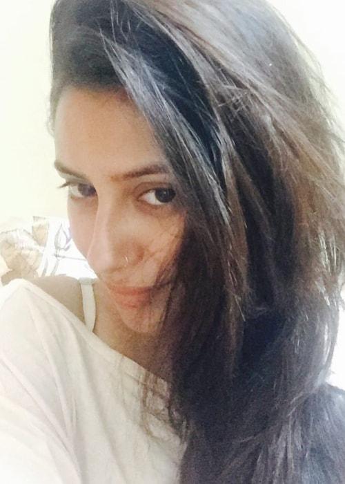 Pratyusha Banerjee as seen in a selfie taken in October 2015