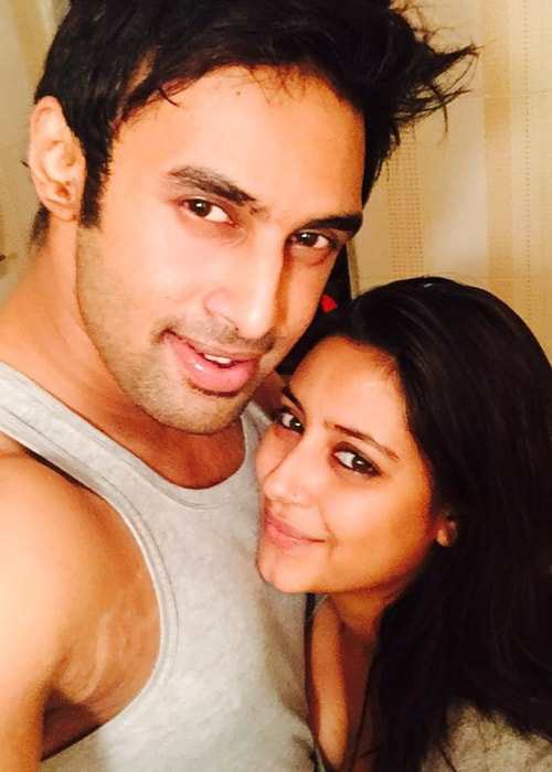 Pratyusha Banerjee as seen in a selfie taken with her boyfriend Rahul Raj Singh in October 2015