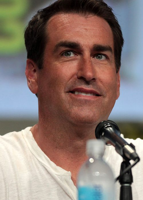 Rob Riggle speaking at the 2014 San Diego Comic Con International