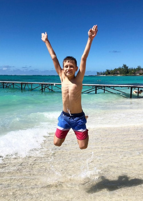 Ronald Kurzawa as seen in a picture taken at the Constance Belle Mare Plage Mauritius in April 2019