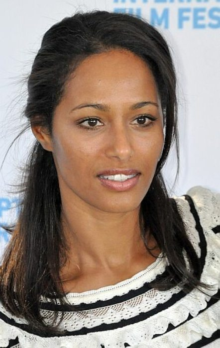 Rula Jebreal at the 18th Annual Hamptons International Film Festival in October 2010