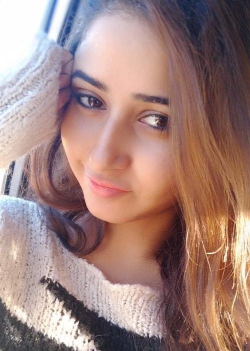 Sana Amin Sheikh as seen in a selfie taken in March 2019