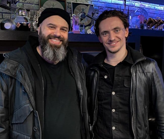 Sergei Polunin (Right) and Maxim Fadeev as seen in March 2019