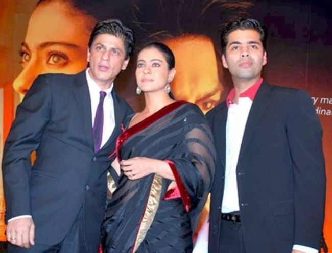 Shahrukh Khan, Kajol, and Karan Johar unveil the first look of their film My Name Is Khan