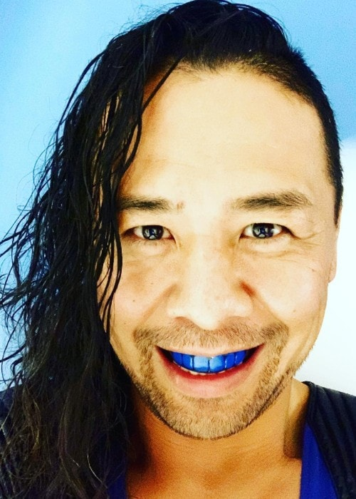 Shinsuke Nakamura as seen in January 2019