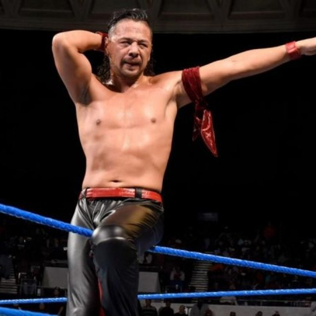 Shinsuke Nakamura as seen in November 2017