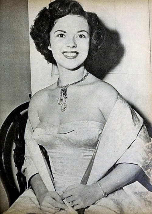 Shirley Temple as seen in January 1952