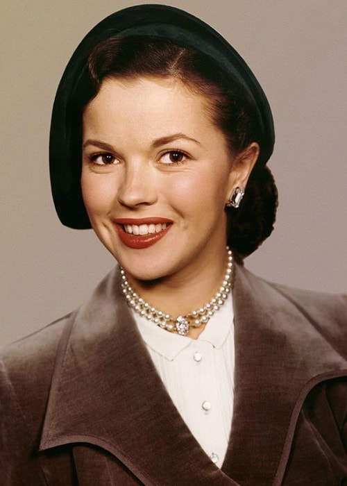 Shirley Temple as seen in October 1948