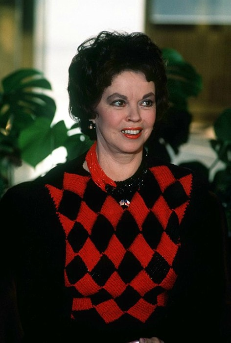 Shirley Temple during an event in October 1990