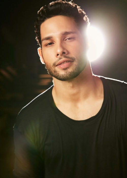 Siddhant Chaturvedi as seen in a picture taken during a photoshoot in January 2019