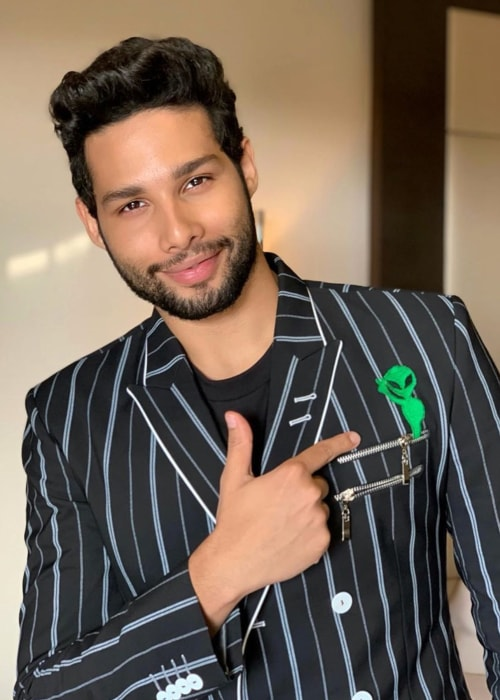 Siddhant Chaturvedi as seen in a picture taken in June 2019