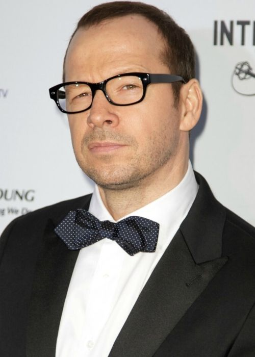 Singer and actor Donnie Wahlberg
