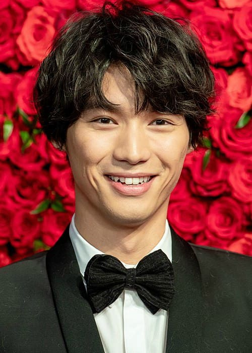 Sota Fukushi at Opening Ceremony of the Tokyo International Film Festival in 2018