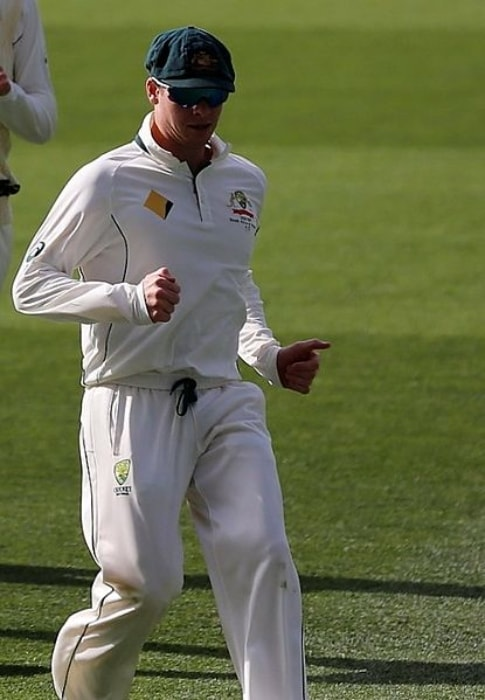 Steve Smith as seen during a cricket match against South Africa in November 2016