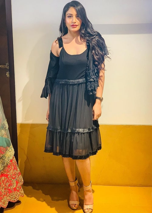 Surbhi Chandna as seen in a picture taken in April 2019