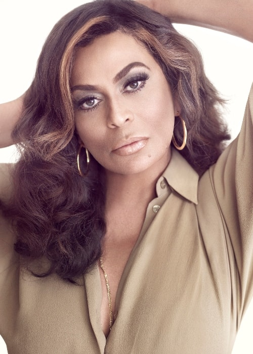 Tina Knowles as seen while posing for the camera in February 2011